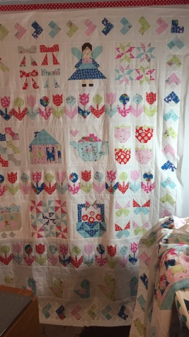 2017 Ally and Pyper Sampler Quilt